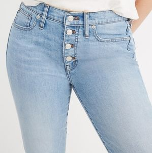 Madewell Plus Size High Rise Skinny Crop Jeans 24